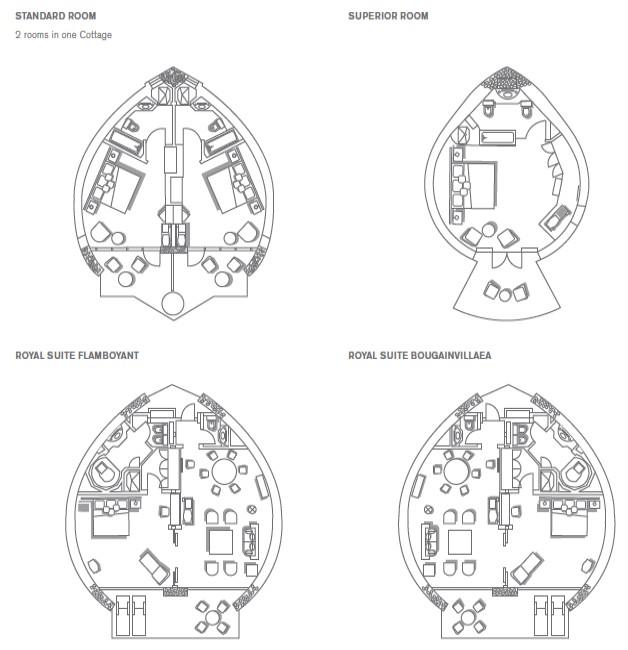 План-схема номеров